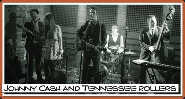 Johnny Cash and Tennessee rollers